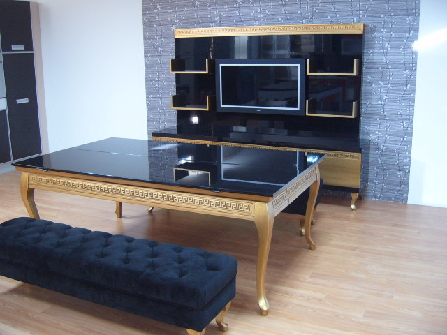 Luxury Pool Table Disguised as Dining Table (2)