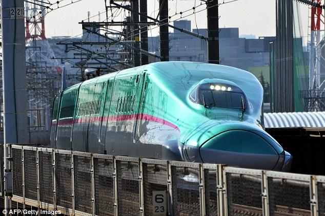 New Ultrafast Train with Luxury Business Class Car (4)