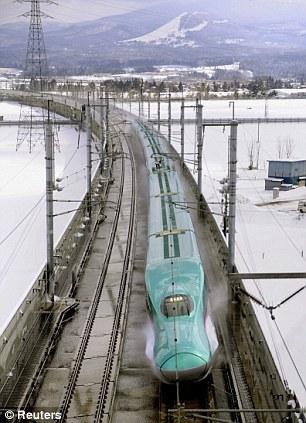 New Ultrafast Train with Luxury Business Class Car (2)