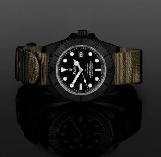 Stealth Military Rolexes from Project X Designs (2)