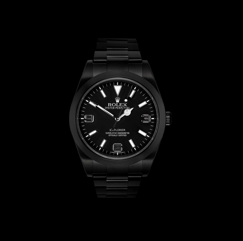 Stealth Military Rolexes from Project X Designs (1)