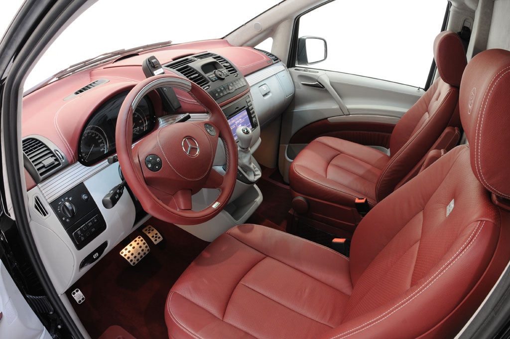 Brabus Mercedes Viano iBusiness 3D Van (14)