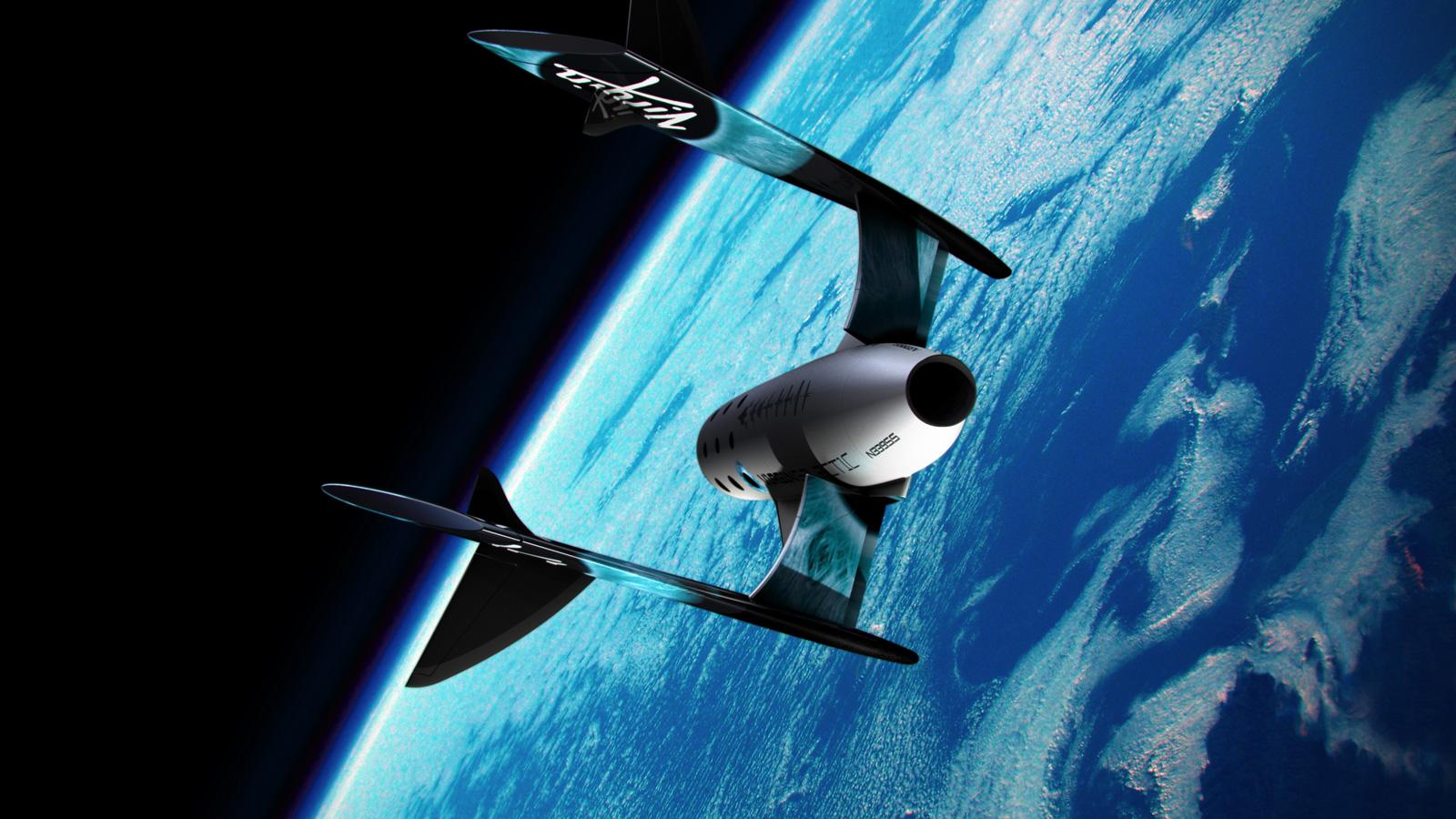 A Peek at Virgin Galactic's Spacecraft