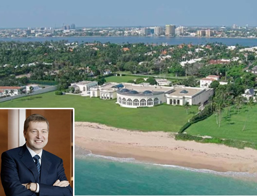 Dmitri Rybolovlev 's Palm Beach estate