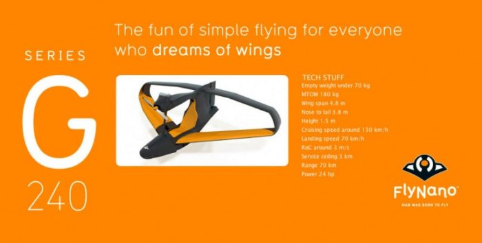 FlyNano Mini Aircraft Doesn't Require Flying License (2)
