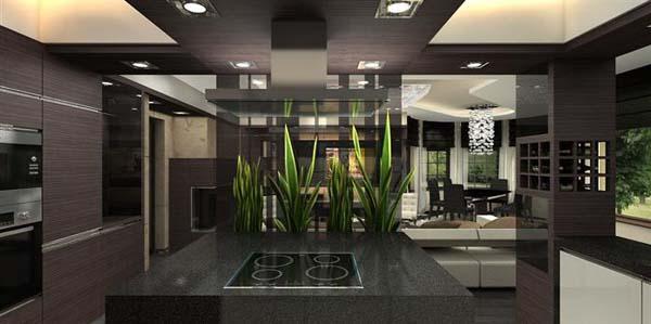 Luxurious Apartment by Archikron Interior Design Studio (10)