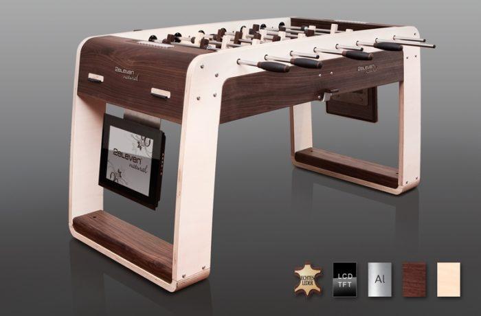 Luxury Multimedia Foosball Table 2eleven natural (1)