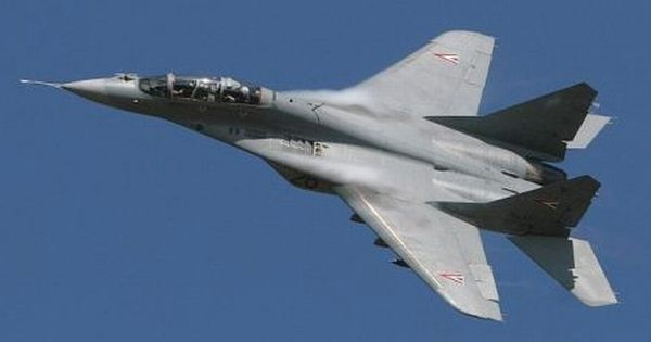 MiG-29 Russian fighter jet