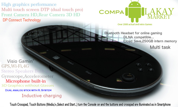 Samsung HD3 Console Concept by Dumary Joseph (1)