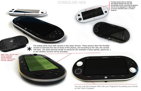 Samsung HD3 Console Concept by Dumary Joseph (2)