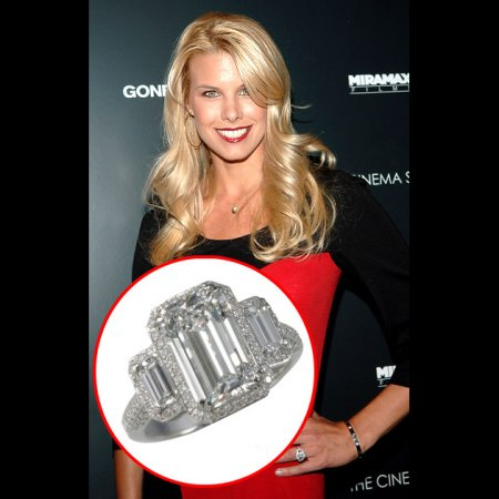 Beth Ostrosky's Engagement Ring from Howard Stern