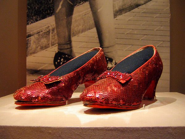 Harry Winston Ruby Slippers