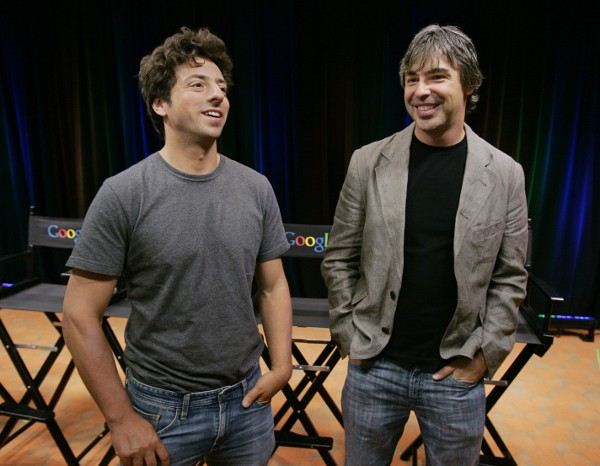 Larry Page and Sergey Brin - Google