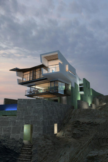 Lefevre Beach House by Longhi Architects (15)