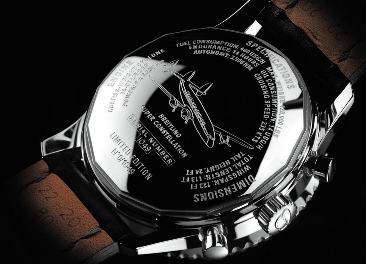 Limited Edition Breitling Navitimer Super Constellation