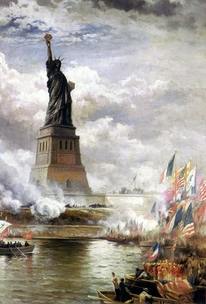 The Statue of Liberty gift