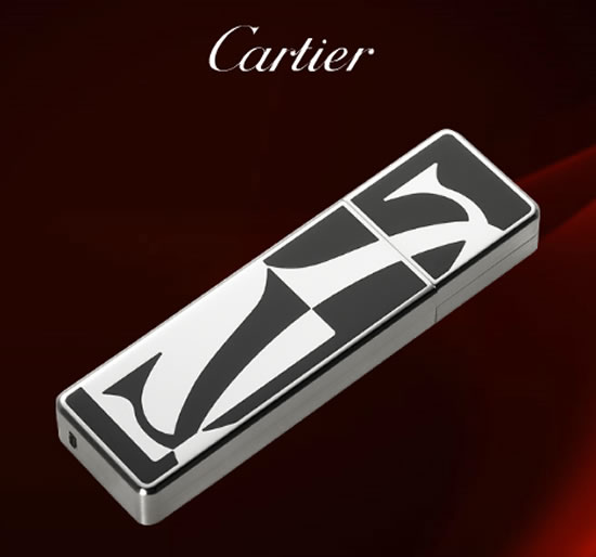 4 GB Cartier Logotype Decor USB Key