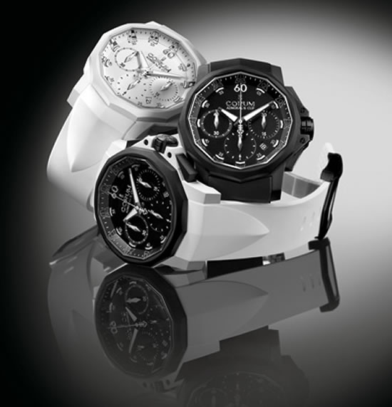 Admiral's Cup Challenger 44 Chrono Rubber Watch from Corum (1)