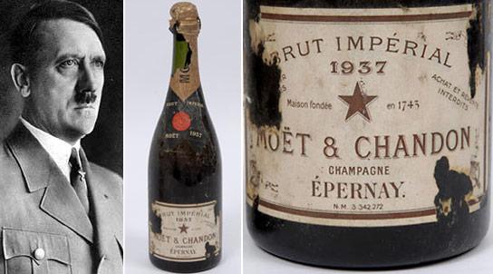 Hitler's Champagne bottle
