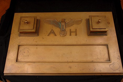 Adolf Hitler's personal desk set, up for auction