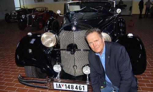 Hitler's Mercedes Benz car