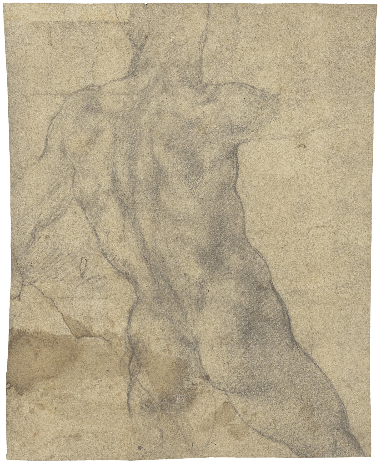 Unique Chance to Get Michelangelo's Original Rare Sketch