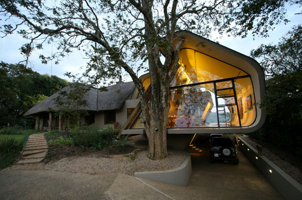 Wright House in Africa by Elmo Swart Architects (11)