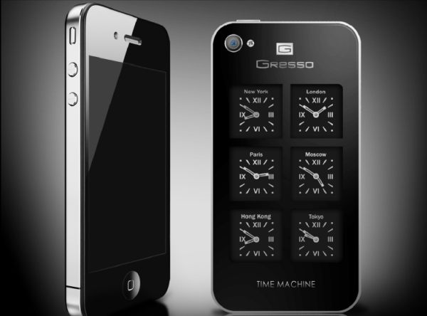 iPhone4 Time Machine by Gresso