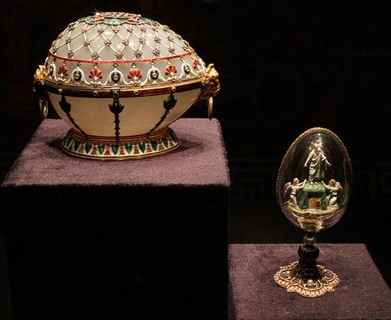 Faberge Couture Egg Jewels Back on the Luxury Market