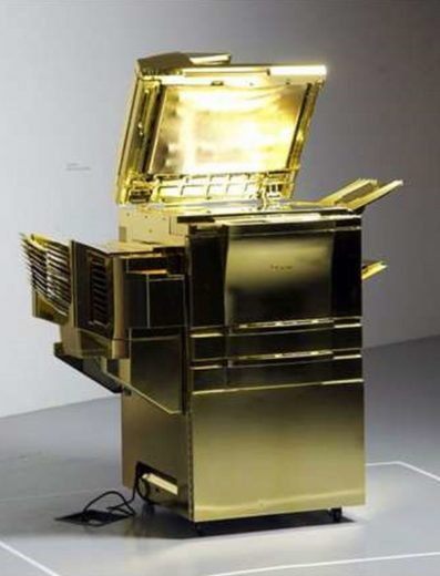 Gold-Plated Copy Machine by Yogi Proctor (5)