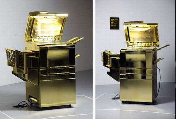 Gold-Plated Copy Machine by Yogi Proctor (4)