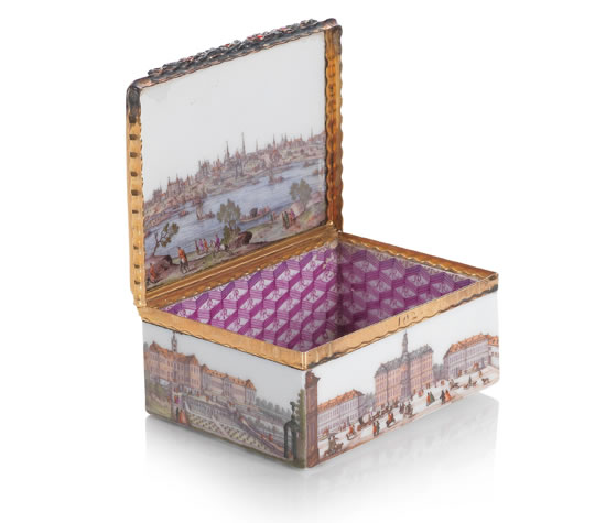 Most Expensive Porcelain Snuff Box