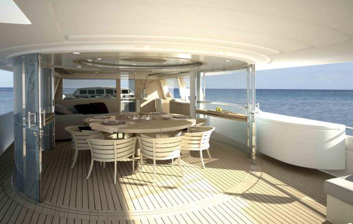 Navetta 33 Crescendo Ziacanaia Superyacht from Ferretti (3)