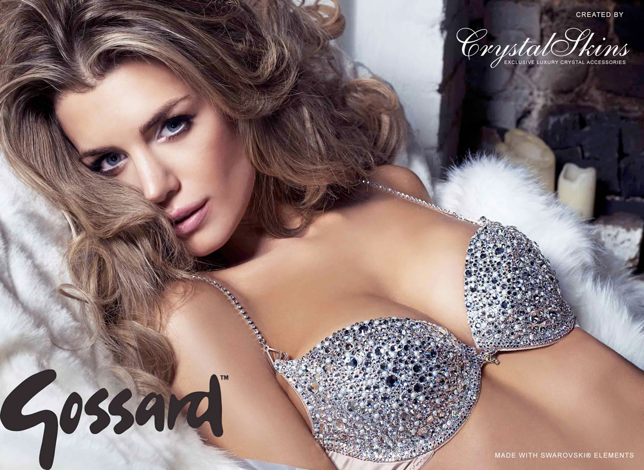 One-Off Swarovski Bra from CrystalSkins and Gossard