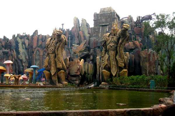 World of Warcraft and Starcraft Theme Park in China (12)