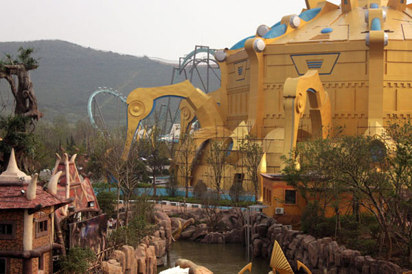World of Warcraft and Starcraft Theme Park in China (11)