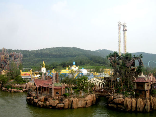 World of Warcraft and Starcraft Theme Park in China (10)