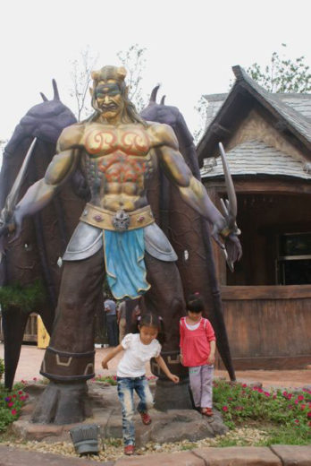 World of Warcraft and Starcraft Theme Park in China (8)