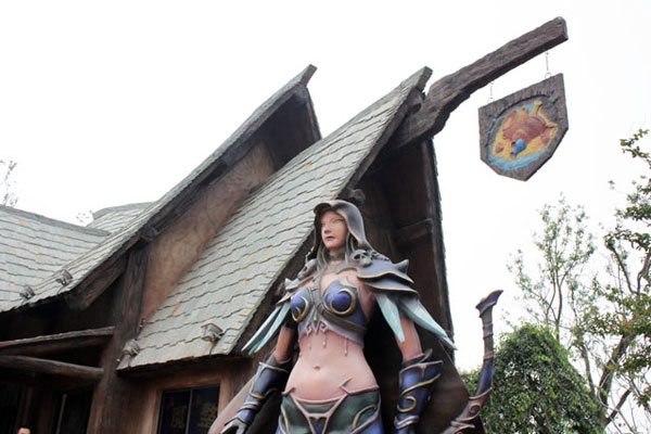 World of Warcraft and Starcraft Theme Park in China (6)