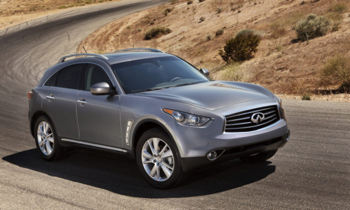 2012 Infiniti FX Prices Revealed for the U.S. (12)