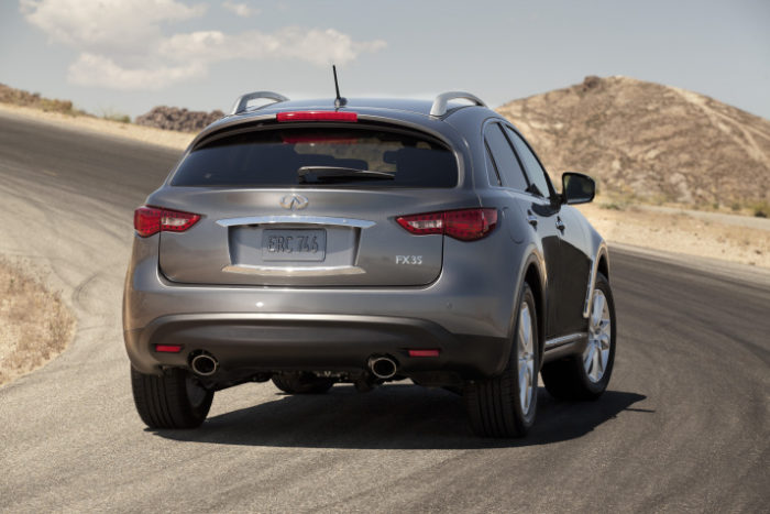 2012 Infiniti FX Prices Revealed for the U.S. (3)