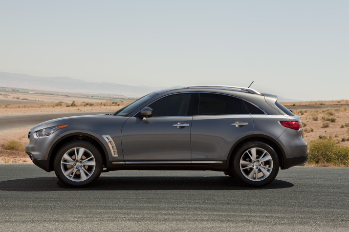 2012 Infiniti FX Prices Revealed for the U.S. (2)