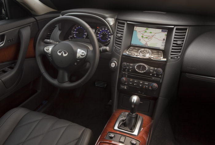 2012 Infiniti FX Prices Revealed for the U.S. (11)