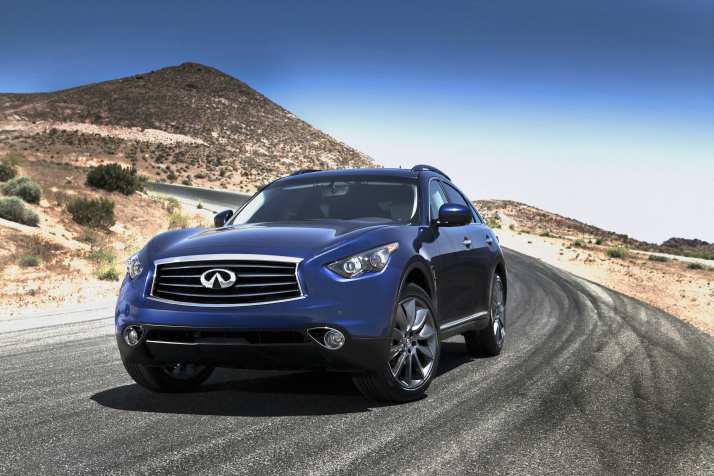 2012 Infiniti FX Prices Revealed for the U.S. (9)