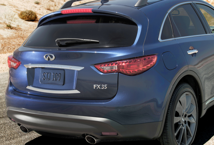 2012 Infiniti FX Prices Revealed for the U.S. (8)