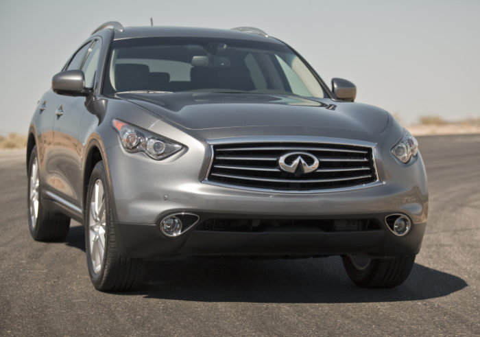 2012 Infiniti FX Prices Revealed for the U.S. (7)