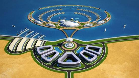 Amphibious 1000 Luxury Resort Project for Qatar (5)