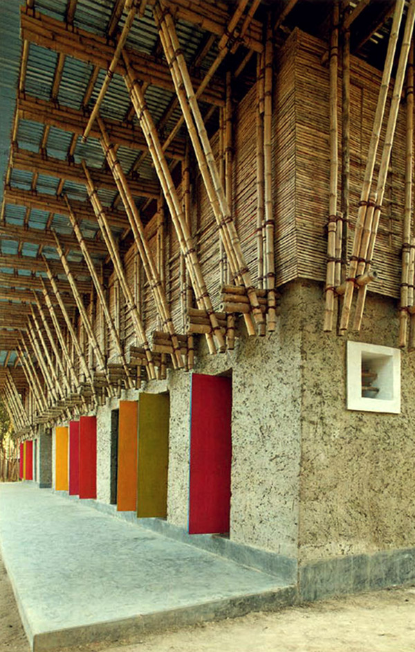 Architecturally Stunning Hand-built School in Bangladesh 1