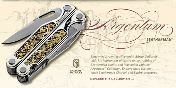 Leatherman Argentum Collection Hand-Made Multi-Tools