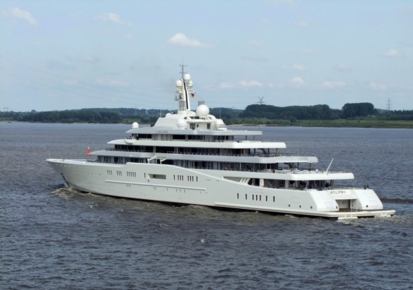 No Mooring Space for Abramovich's Eclipse in Antibes